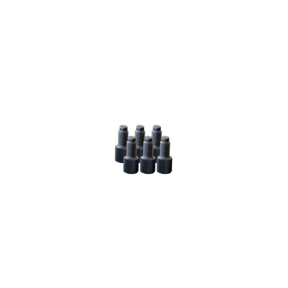 EZwaste® Replacement Fitting 1/4-28 Plugs, 6/pack