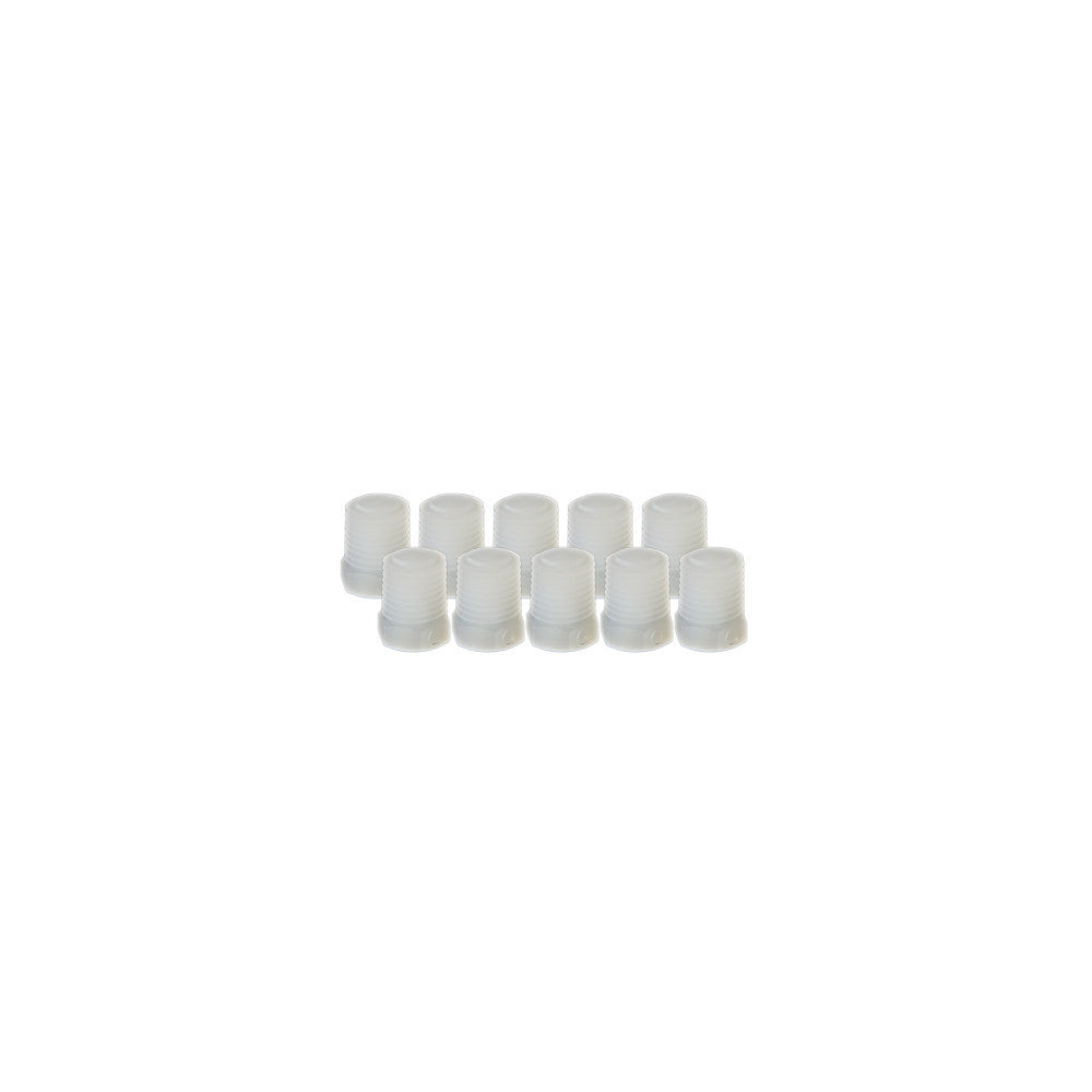 "EZwaste® Replacement 1/4"" MNPT Filter Plugs, 10/pack"