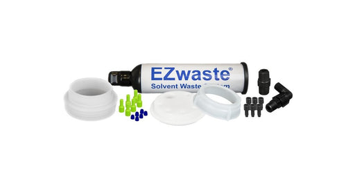 "EZWaste® UN/DOT Filter Kit, VersaCap® S70 w/ Threaded Adapter, 6 Ports for 1/16""  OD Tubing"
