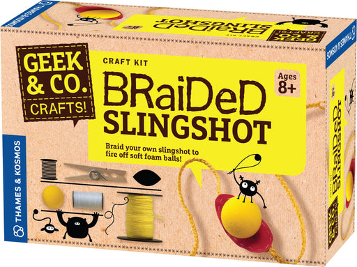"""Braided Slingshot"" - Craft Kit  - LabRatGifts - 1"