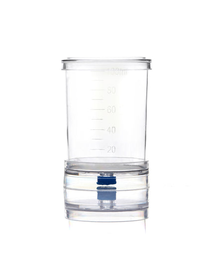 EZMicro™ Microbiology Funnel Monitor, 100mL, Gridded Black MCE Membrane 0.45µm, Fixed, Gamma Sterilized, PK/50