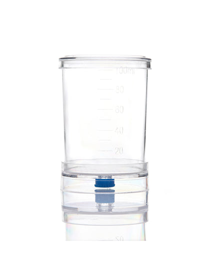 EZMicro™ Microbiology Funnel Monitor, 100mL, Gridded White MCE Membrane 0.2µm, Removable , Gamma Sterilized, PK/50