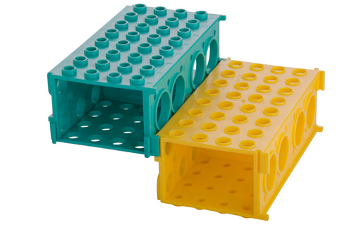 Abdos Combination Rack, Polypropylene (PP) Blue, 4/CS
