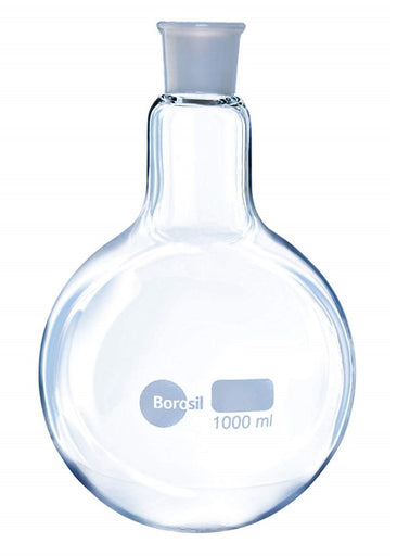 Borosil® Round Bottom Boiling Flasks With Beaded Rim - 1L - CS/20