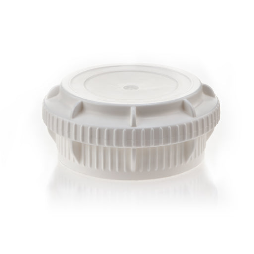 EZBio® GL45 Closed Cap, White PP for Plastic Bottles