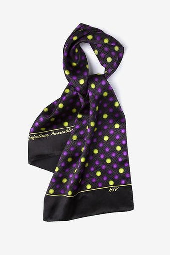Infectious Awareables™ HIV Scarf  - LabRatGifts - 1