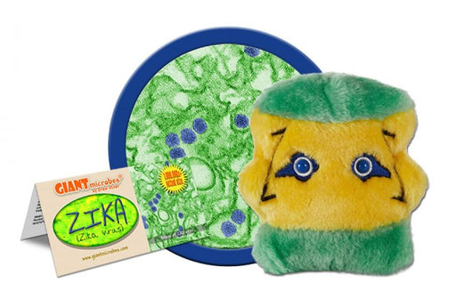 Zika (Zika Virus) - GIANTmicrobes® Plush Toy  - LabRatGifts - 1