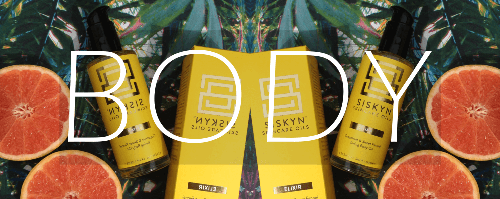 Siskyn Skincare Oils - All our gorgeous body oils