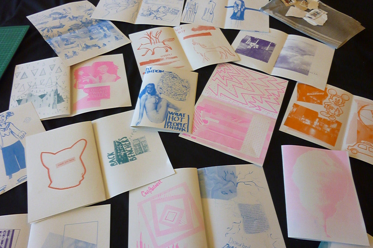 Intro to Zine Making