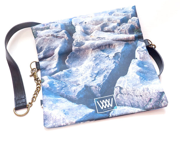 Wild by Water Folded Clutch – Flaggy Shore