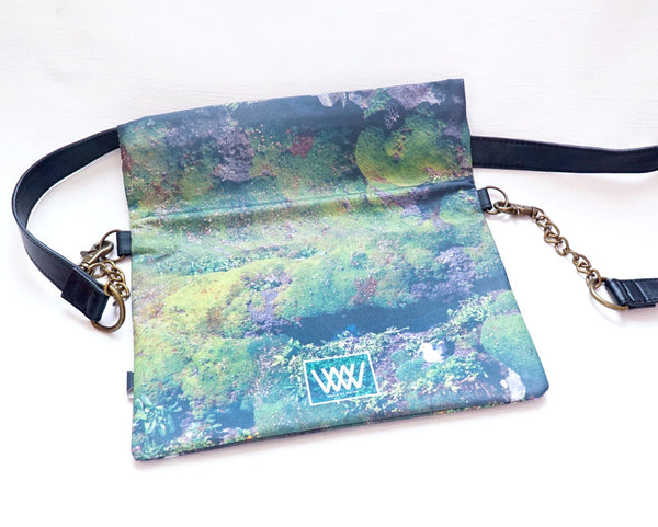 Wild by Water Folded Clutch – Gull