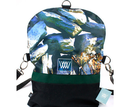 Wild by Water Backpack - Drystone Wall