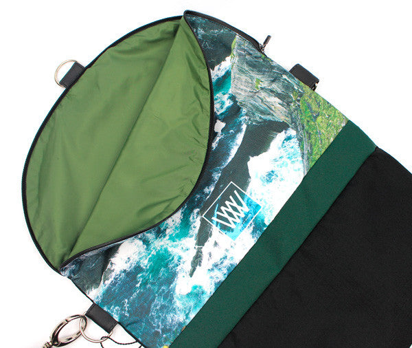 Wild by Water Backpack / Cross-body – Sea Cliffs