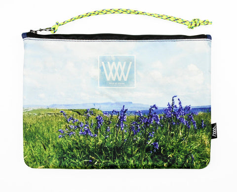 Wild by Water Sporty Clutch – Island Bluebells