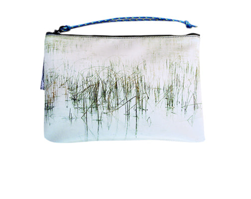 Wild by Water Sporty Clutch – Ice Reeds