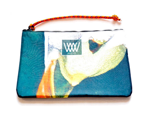 Wild by Water Sporty Clutch – Puffin Graphic