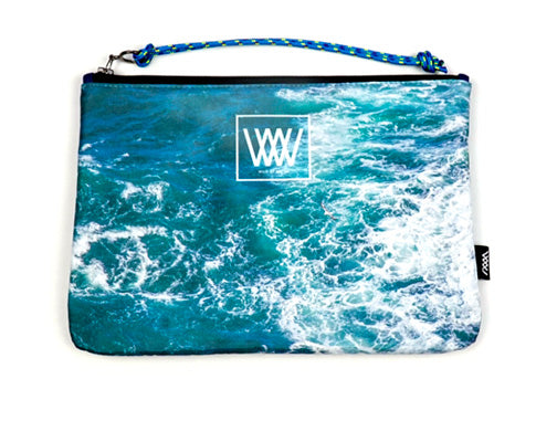 Wild by Water Sporty Clutch – Seabird Swirl