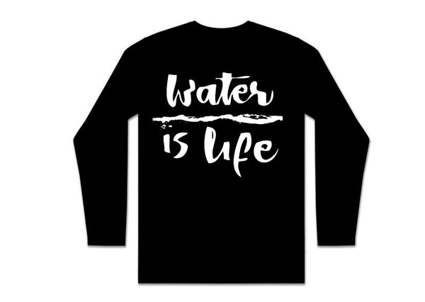 Water is life Long-sleeve T-Shirt