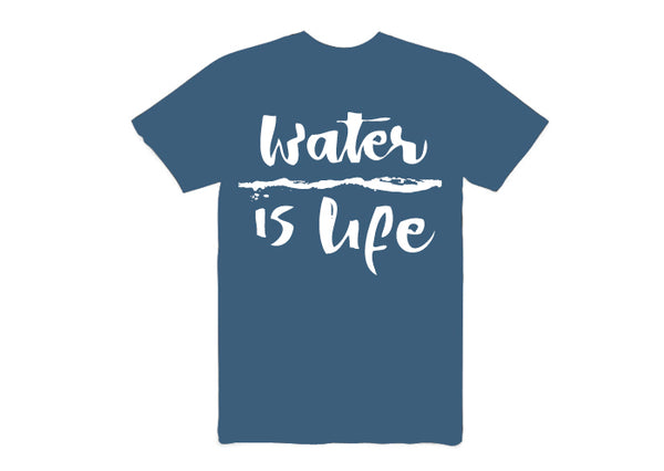 Water is life Short-sleeved T-Shirt