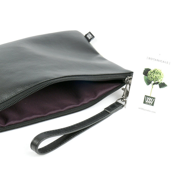 Wild by Water Botanicals Orchid Black Velvet Pouch
