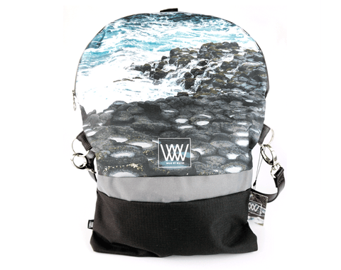 Wild by Water Backpack / Cross-body – Giant's Causeway