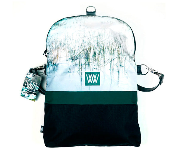 Wild by Water Backpack / Cross-body – Ice Reeds