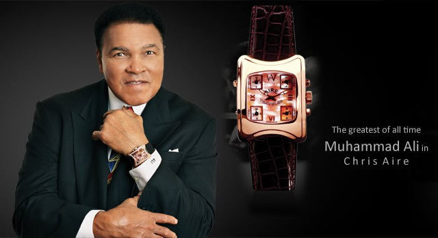 MUHAMMAD ALI IN CHRIS AIRE