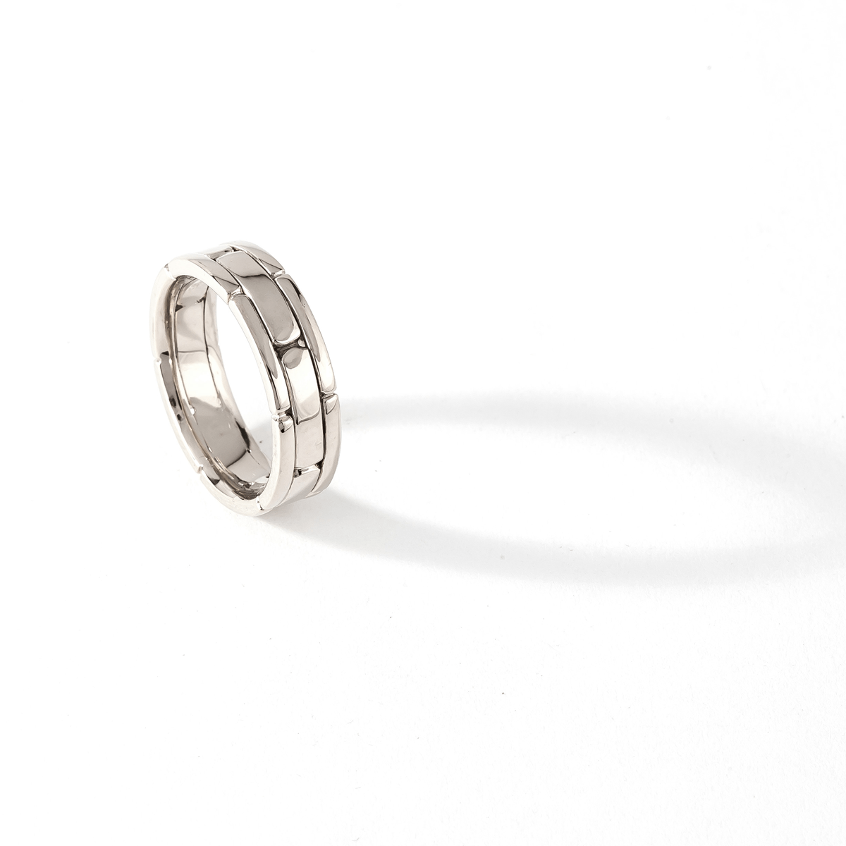 CHRIS AIRE WEDDING BAND - WHITE GOLD