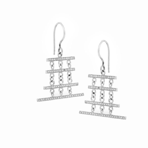 AIRE TREASURE LINES EARRINGS - Chris Aire Fine Jewelry & Timepieces