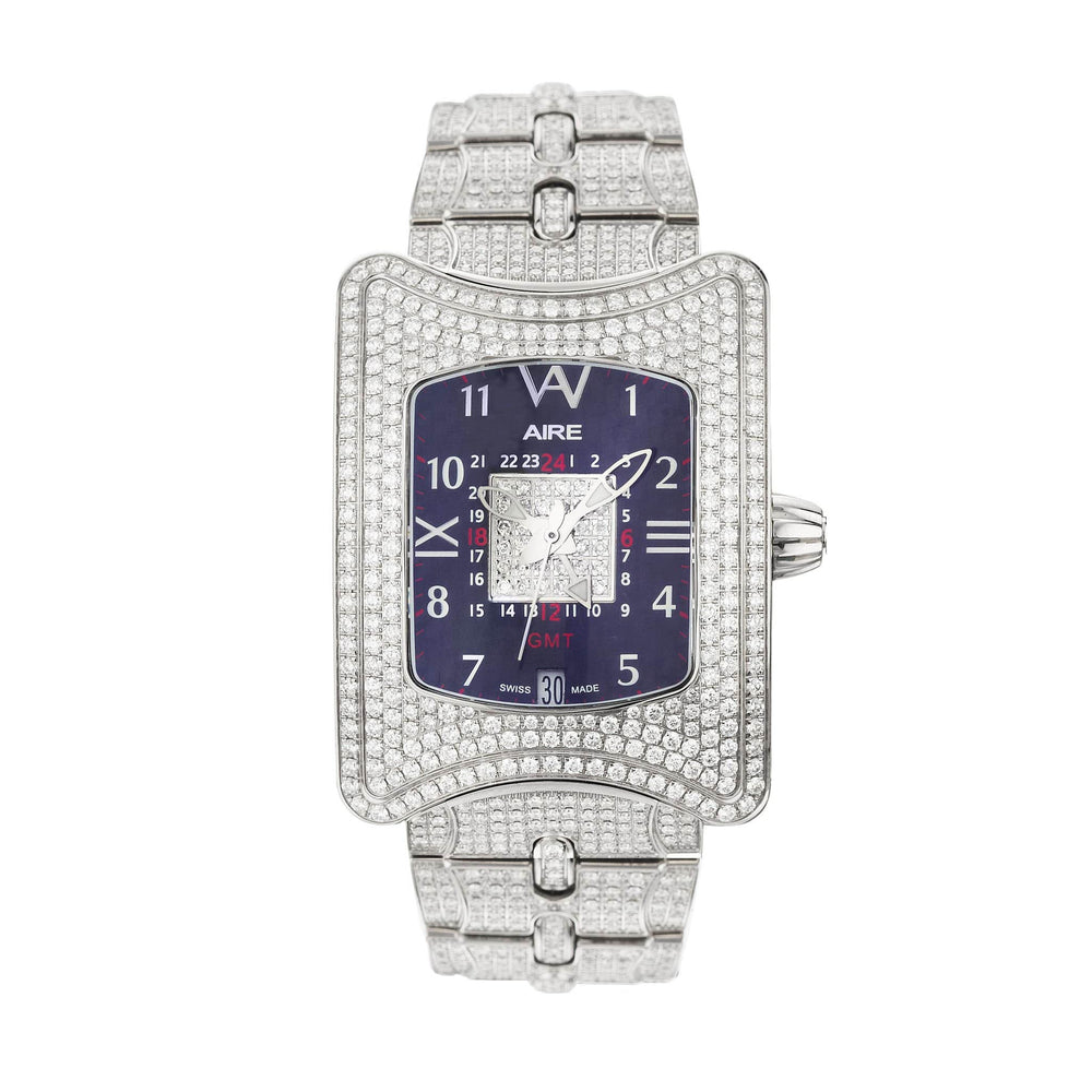Load image into Gallery viewer, UNISEX  WATCH -  AIRE TRAVELER II GMT - Chris Aire Fine Jewelry & Timepieces