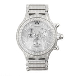 Aire Parlay Swiss Made Over-Sized  Full Diamond  Mens Watch