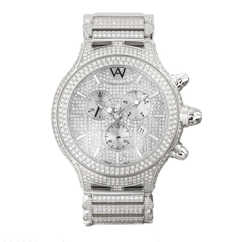 PARLAY MEN'S FULL DIAMOND WATCH