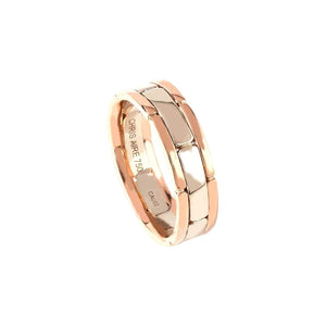A Good Thing - 18 Karat Two Tone Gold Wedding Band