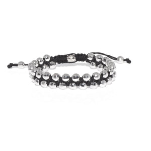 18 KARAT WHITE GOLD - BEAD BRACELET - Chris Aire Fine Jewelry & Timepieces