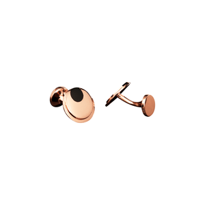 Load image into Gallery viewer, Commander - Cufflinks in18 Karat Amber Hue Gold and Onyx Cufflinks
