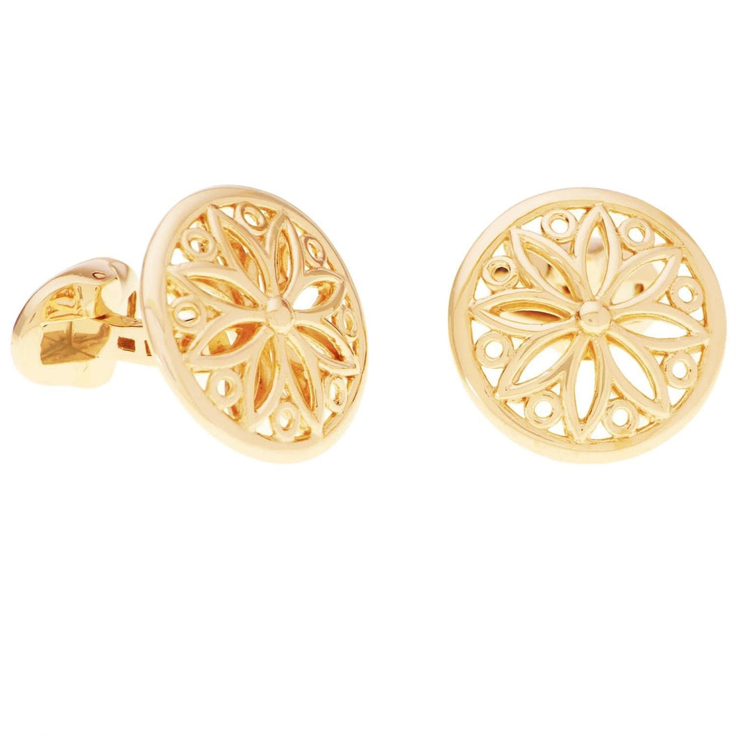 GOLD CUFFLINKS - Chris Aire Fine Jewelry & Timepieces