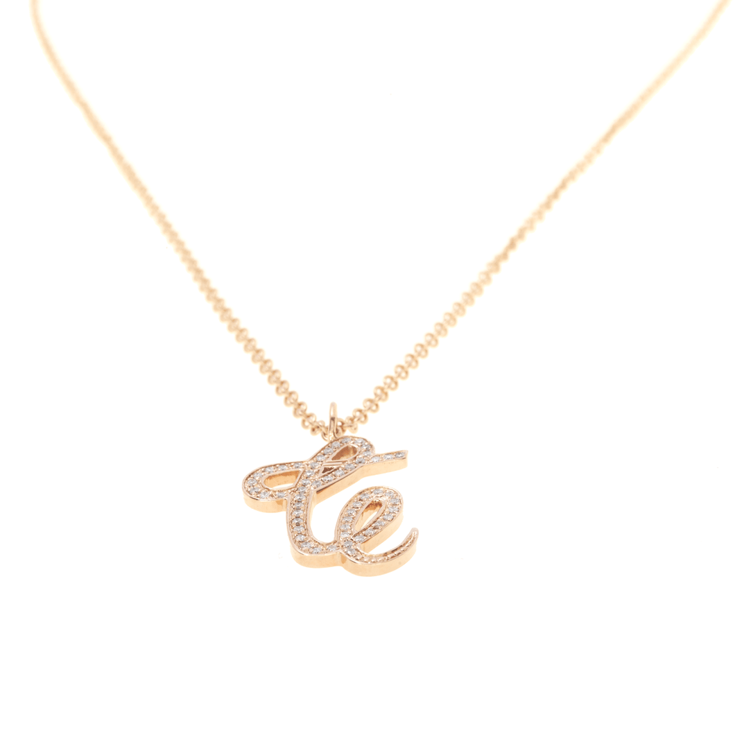 AIRE NECKLACE - GRAFFITI MONOGRAM - Chris Aire Fine Jewelry & Timepieces
