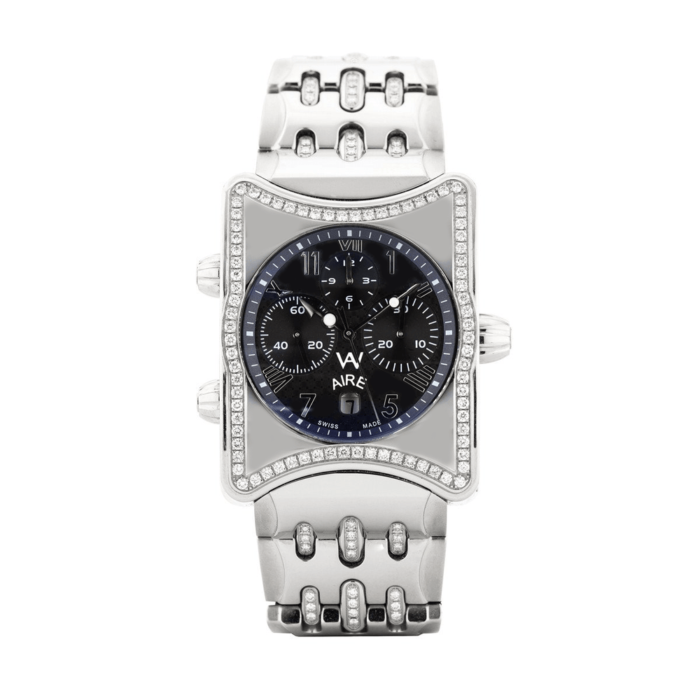 Aire Inner Circle Swiss Made Automatic Chronograph Limited Edition Diamond Watch