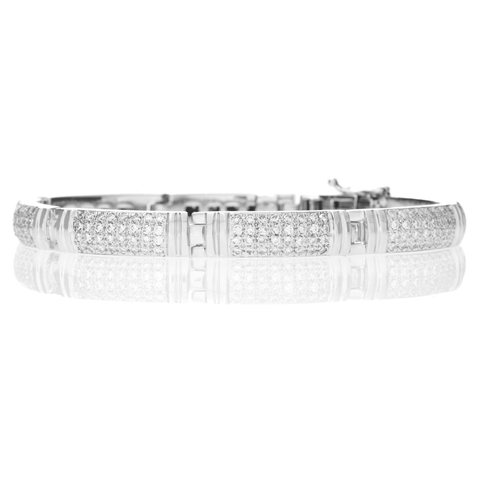 BLOCK DIAMOND BRACELET