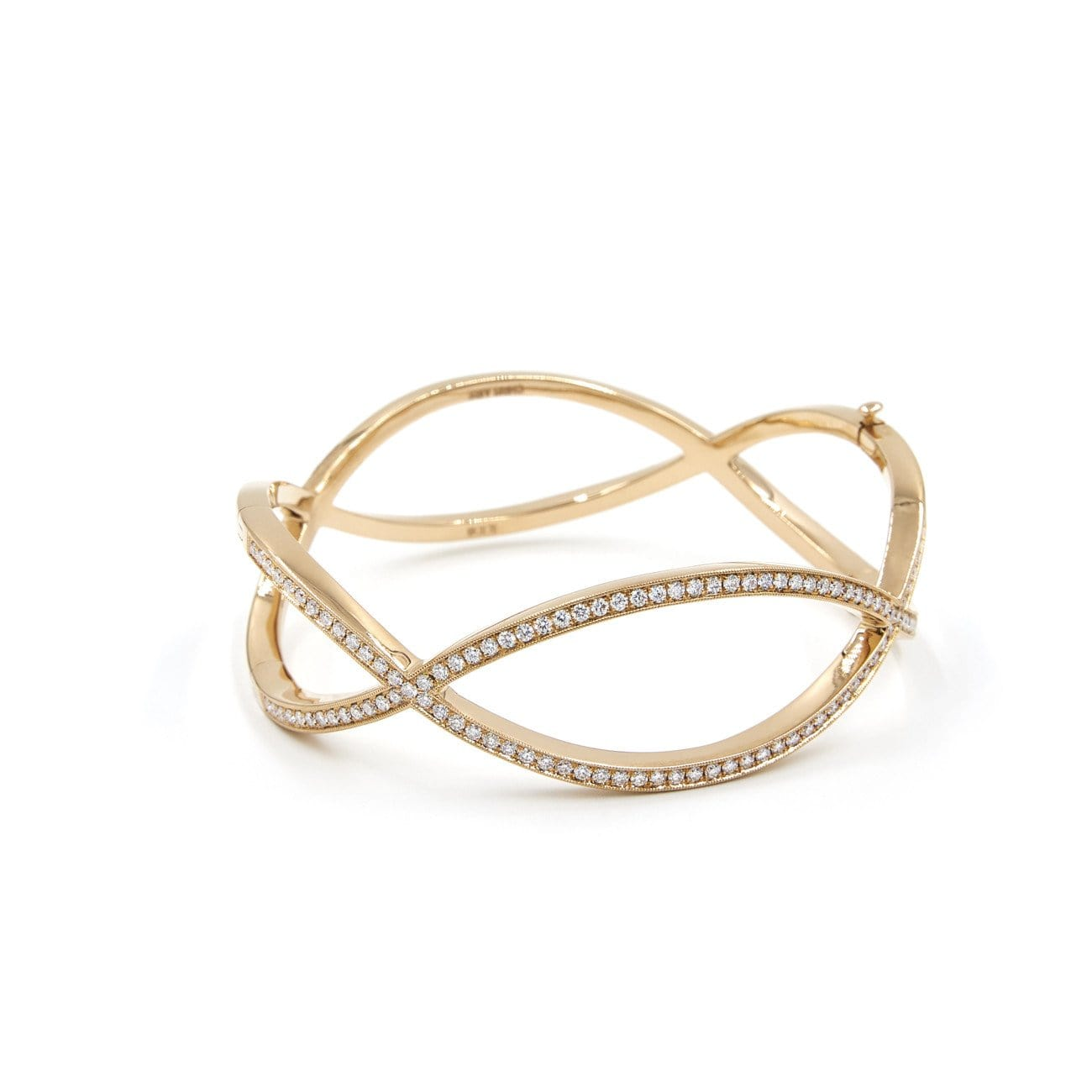 DIAMOND INFINITY BANGLE - Chris Aire Fine Jewelry & Timepieces