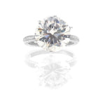 CHRIS AIRE DIAMOND SOLITAIRE CENTER ENGAGEMENT RING - Chris Aire Fine Jewelry & Timepieces