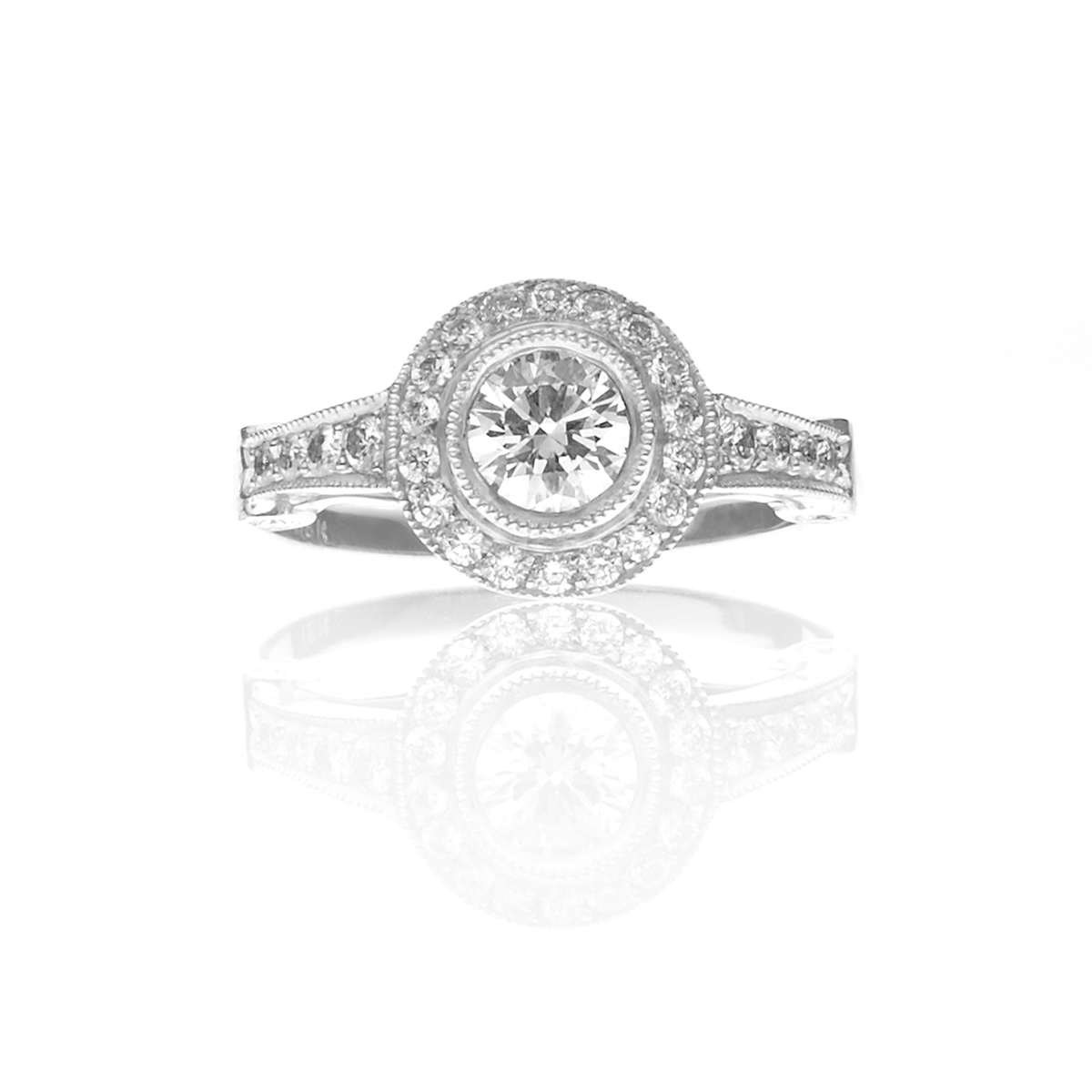 CHRIS AIRE CARAT DIAMOND ENGAGEMENT RING - Chris Aire Fine Jewelry & Timepieces