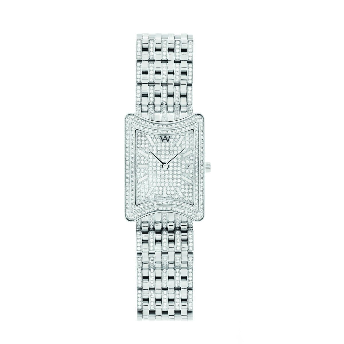 Aire Empress Swiss Made Full Diamond Luxury Limited Edition Watch