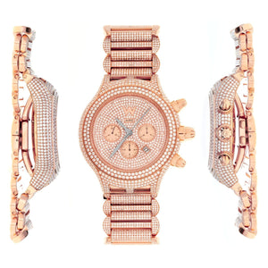 CHRIS AIRE PARLAY CHRONOMATIC FULL DIAMOND WATCH - Chris Aire Fine Jewelry & Timepieces