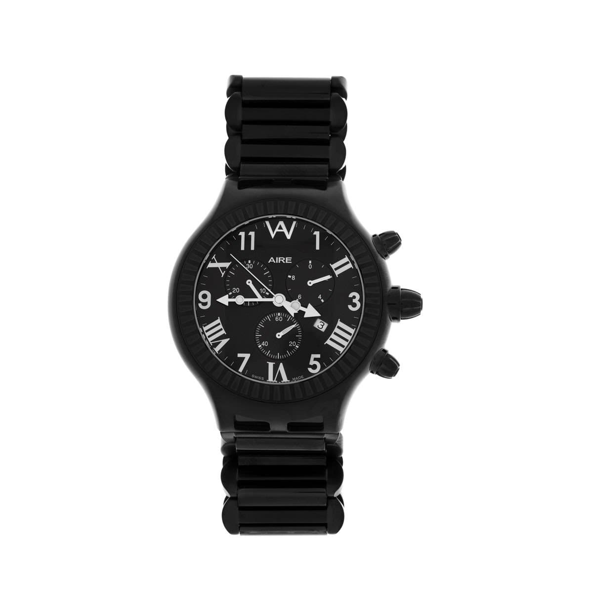AIRE PARLAY  MEN'S BLACK  WATCH - Chris Aire Fine Jewelry & Timepieces