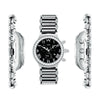 Aire Parlay Swiss Made Chronograph Quartz Over-Sized Diamond Mens Watch