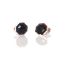 18K Gold and Onyx Cufflinks - Celestial Cufflinks