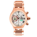 Aire Parlay Swiss Made Automatic Chronograph 18 Karat Solid Gold Unisex Watch - RED GOLD®