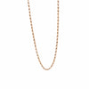 GOLD NECKLACE  - AFRICAN BEAD CHAIN - Chris Aire Fine Jewelry & Timepieces