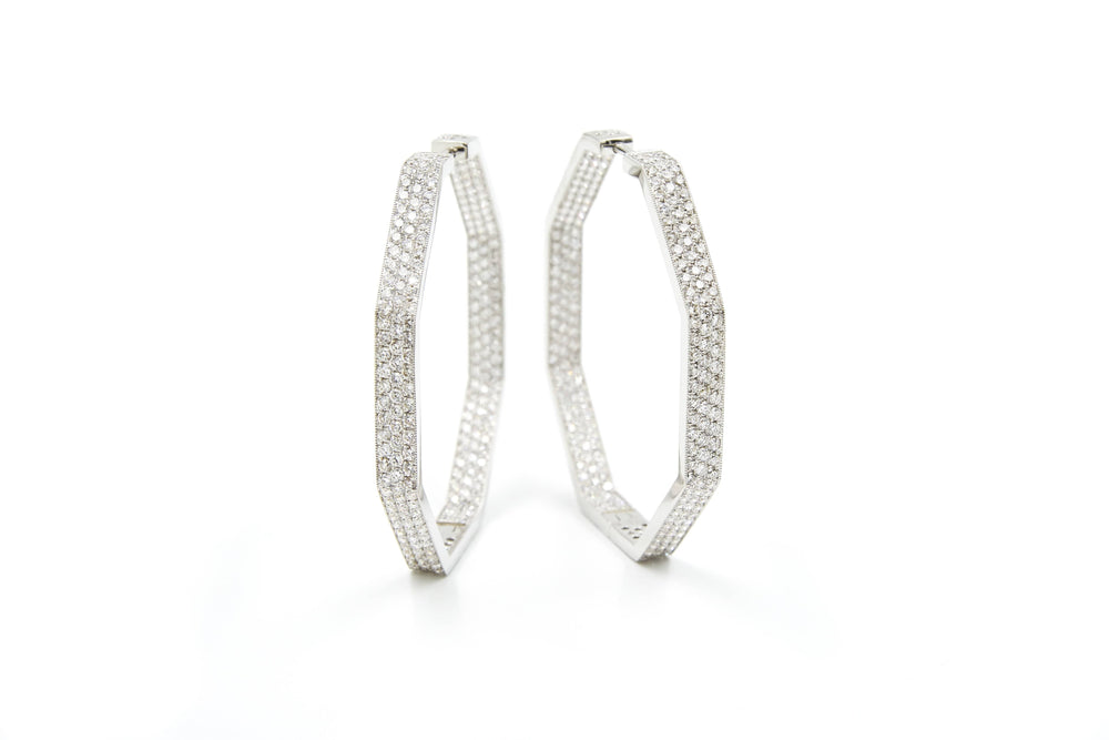 CHRIS AIRE TRANSFORMATION DIAMOND EARRINGS - Chris Aire Fine Jewelry & Timepieces